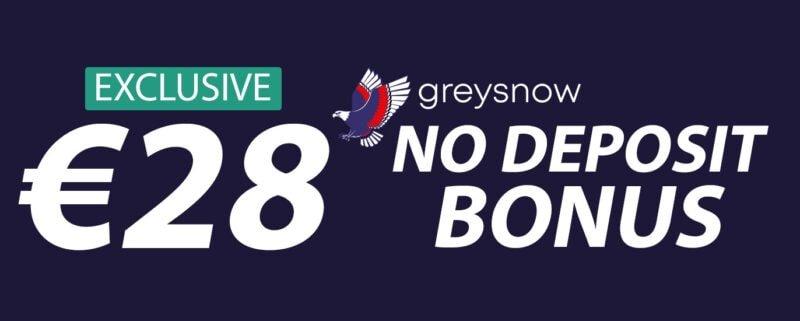 GreySnow No Deposit Bonus