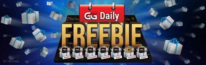 Daily Freebie GGpoker